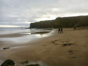 Rocky Bay, sandy beach