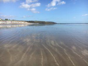Garryvoe Beach low tides impressions