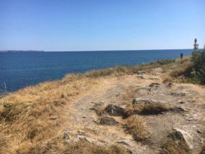 Courtmacsherry, Blick über das Meer soweit das Auge reicht