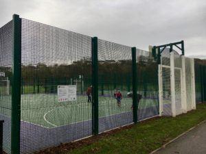 Ballincollig Regional Park, playground with soccer field