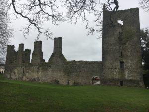 Castlemartyr, castle ruins in hotel area