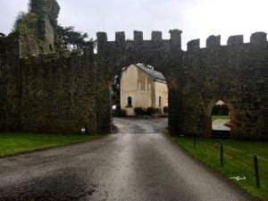 Castlemartyr, gate in hotel area