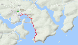 Map for the complete Maritime walk