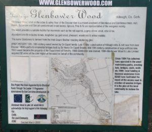 Glenbower Woods, overview and short historical description of Glenbower woods