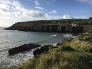 Ballyandreen beach, good place to take a rest before returning to Ballycotton