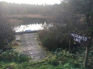Knockakeo Lake in forestry area near Dungourney