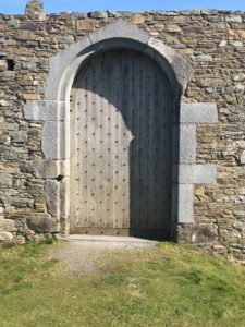 Castlepark, door to James Fort