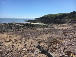 Barry-Coves-Way, view from Ring beach to Knockadoon