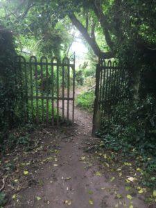 Ballyannan, gate