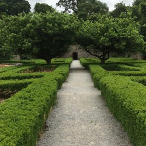Doneraile Wildlife Park, Gardeners cottages and garden