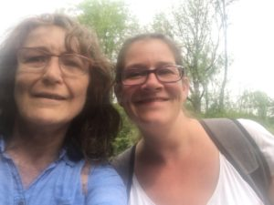 Guided walking with Katrin