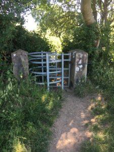 Blackwater River Walk, gate